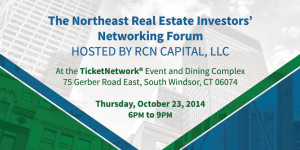 RCN Capital to Host the 2nd Northeast Real Estate Investors' Networking Forum