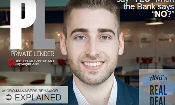 Matt Ferrigno Featured in AAPL's Private Lender E-Zine