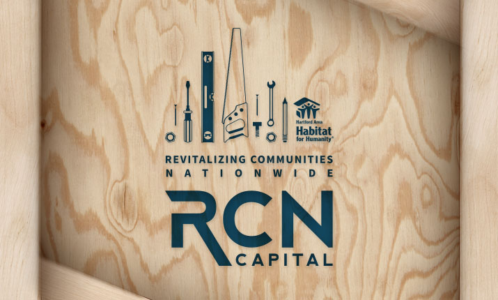 RCN Capital Employees will Spend Day with Hartford Habitat for Humanity