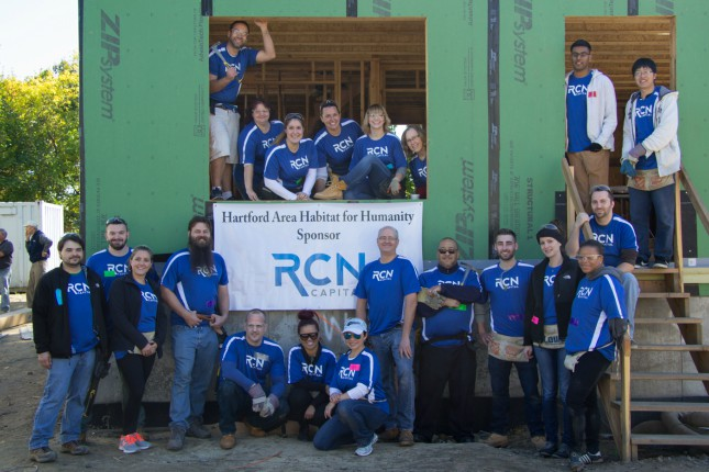 RCN Capital's First Habitat for Humanity Build
